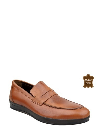 Wolfland Loafer Ayakkabı Taba
